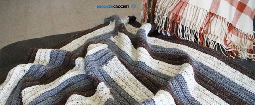 Make this Staircase Crochet Afghan!