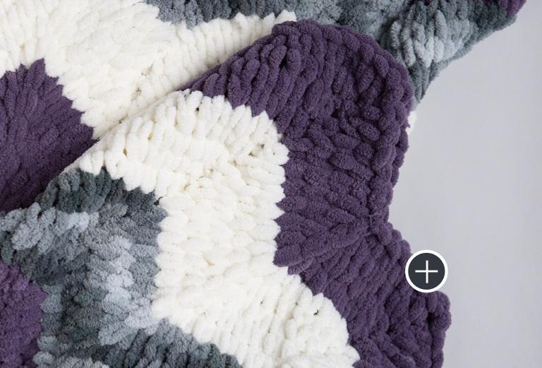 Bernat Blanket-EZ Ripple Blanket