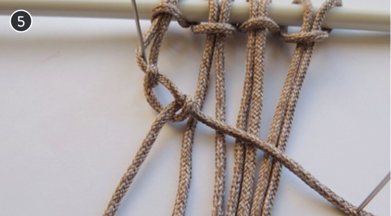 How To Make 6 Common Macrame Knots and Patterns Diagonal Half Hitch