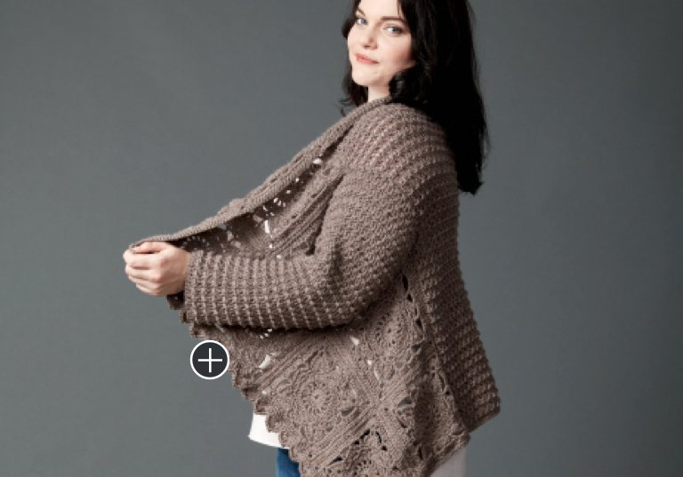 Easy Crochet Granny Cardigan