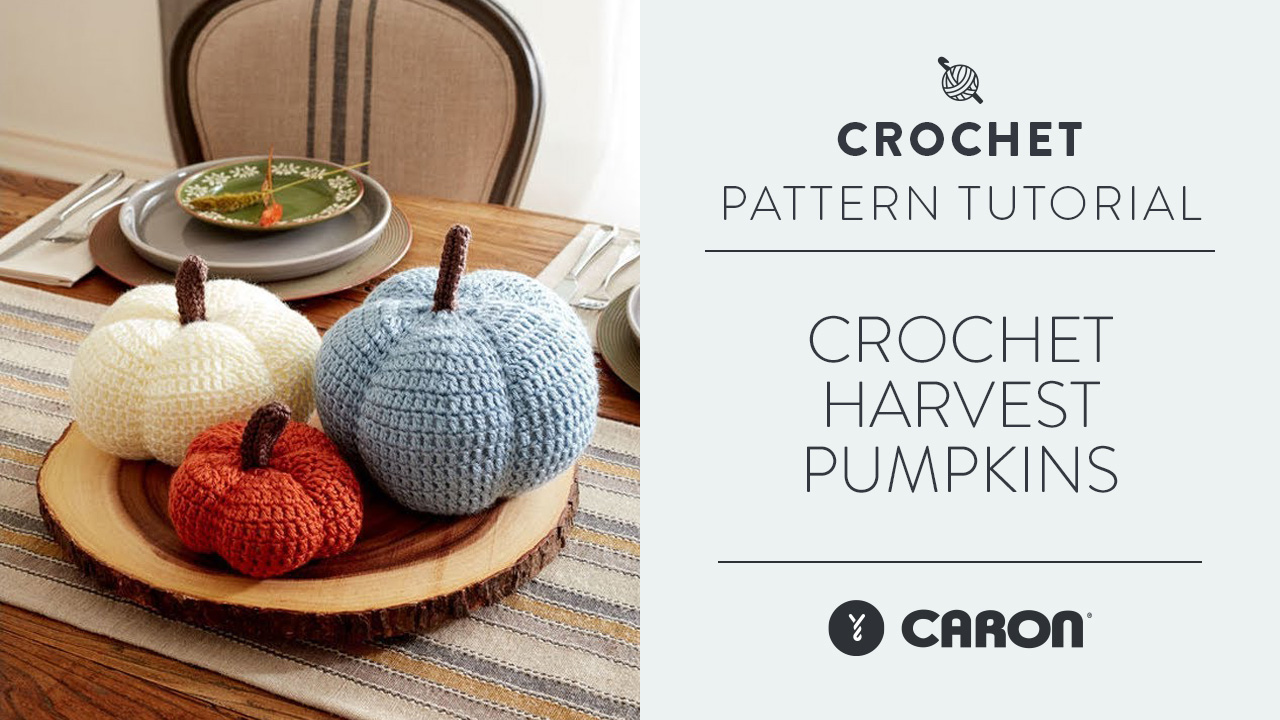 Crochet: Harvest Pumpkins