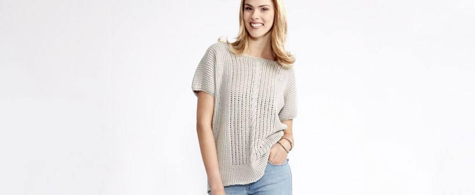 Breezy Dolman Knit Top-M
