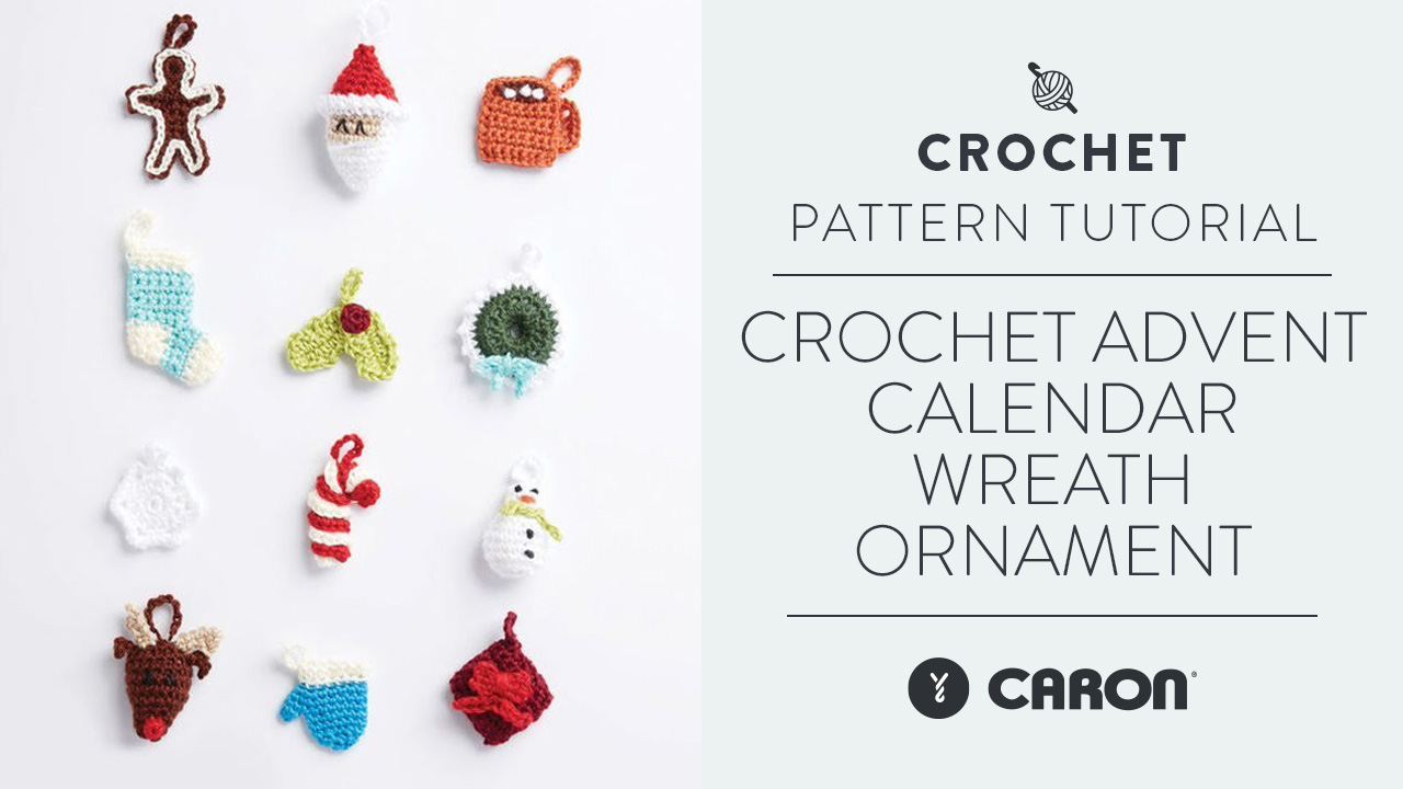 Crochet: Advent Calendar Wreath Ornament