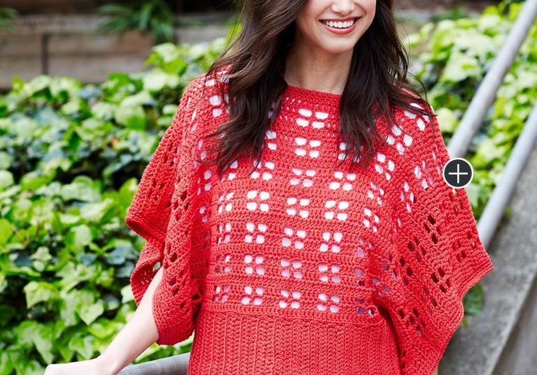 Intermediate Clementine Crochet Chic Sweater