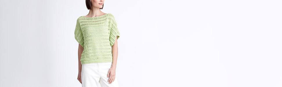 Drop Stitch Knit Top