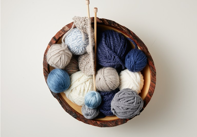 Winter Calm Yarn and Color Story