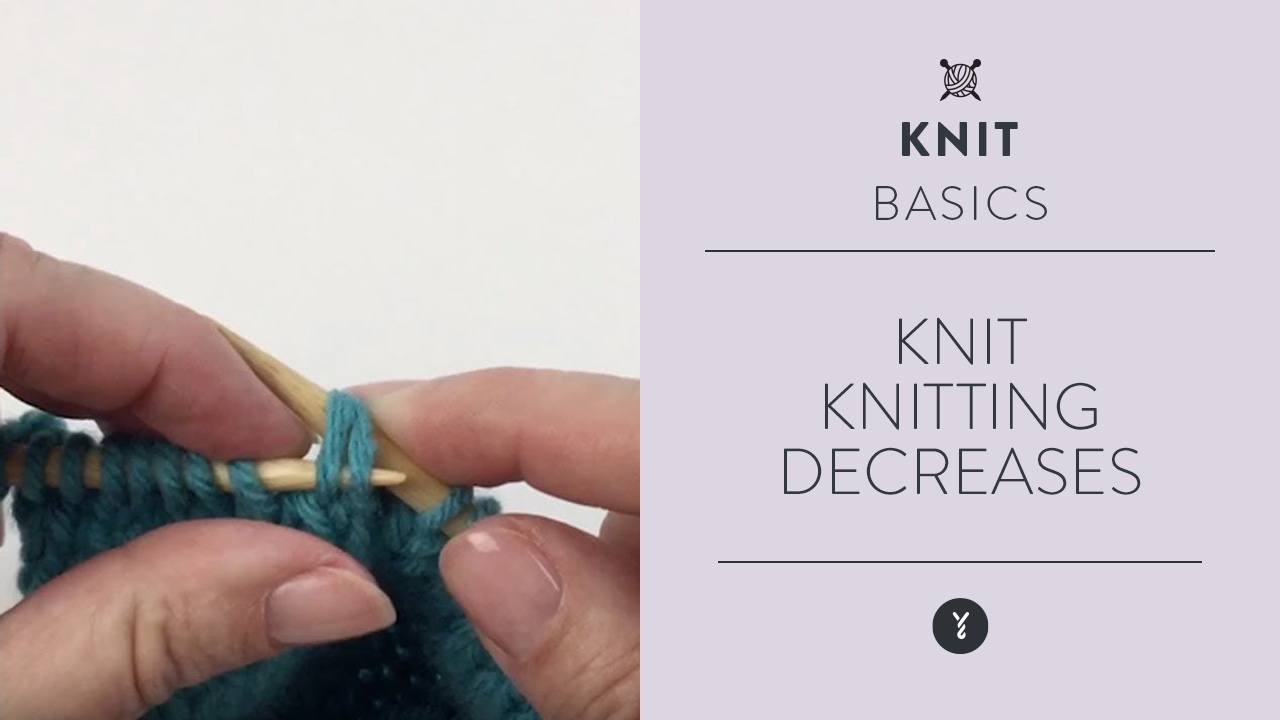 Knit: Knitting Decreases