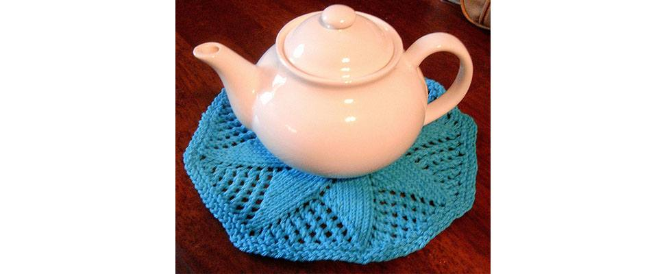 Knit Doily Dishcloth