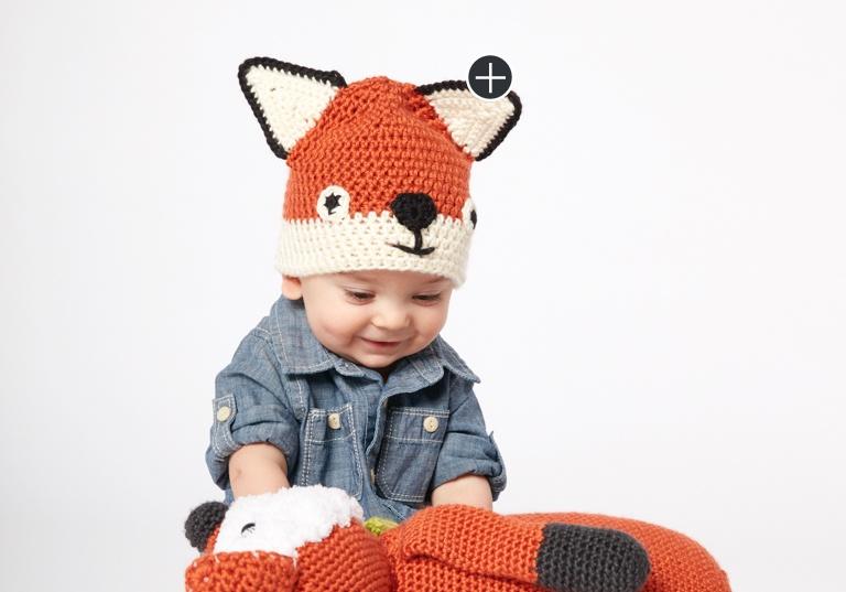 Easy Crochet Fox Hat