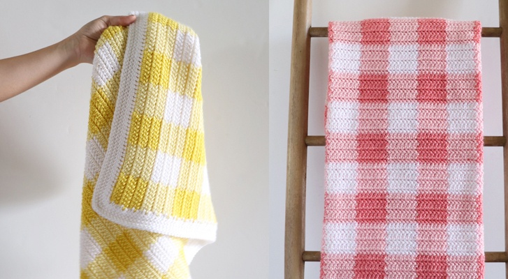 Crochet A Gingham Blanket with Daisy Farm Crafts