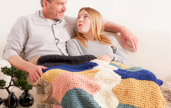 O'Go Introducing Bernat Blanket Blanket