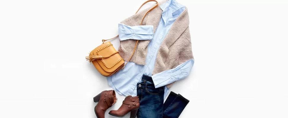 Patons Stitch Style Knit Envelope Cardigan