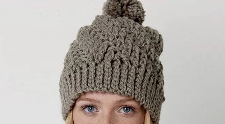 A Nordic Inspired Textured Hat