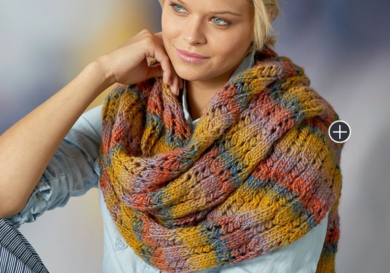 Easy Rendezvous Knit Scarf