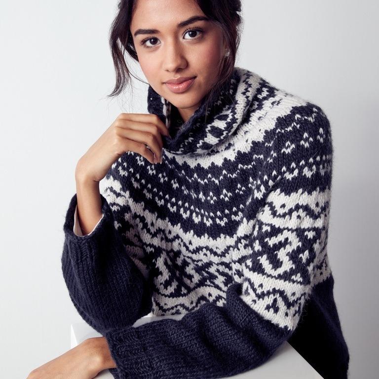 Intermediate Nomad Fair Isle Knit Pullover