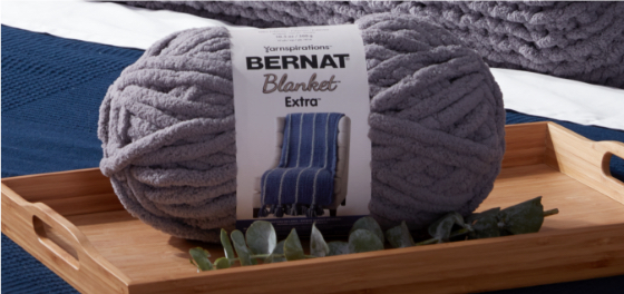 Bernat Big Knit Bolster Pillow 4