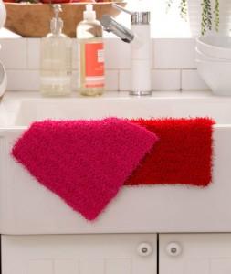 LW4794 Simple Crochet Dishcloth