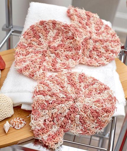 Nautilus Shell Scrubby Free Crochet Pattern LW5531