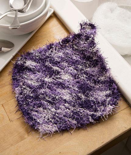 LW5114 Corner-to-Corner Scrubby Knitting Pattern