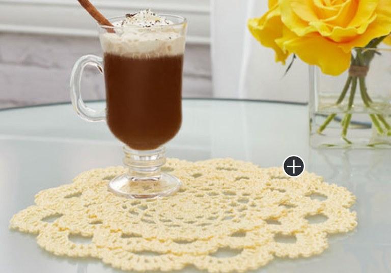 Intermediate Crochet Japanese Dahlia Doily