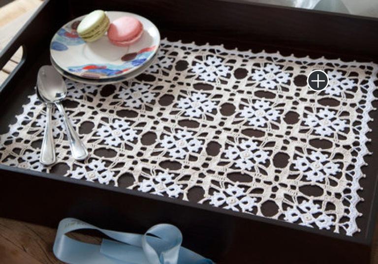 Intermediate Crochet Vanessa Tray Doily
