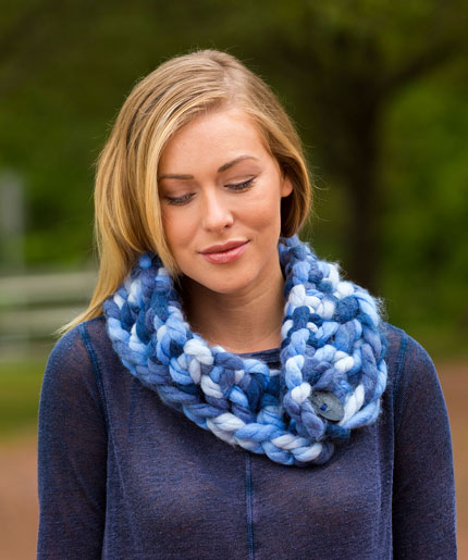 The Goodly Cowl Free Crochet Pattern LW5291