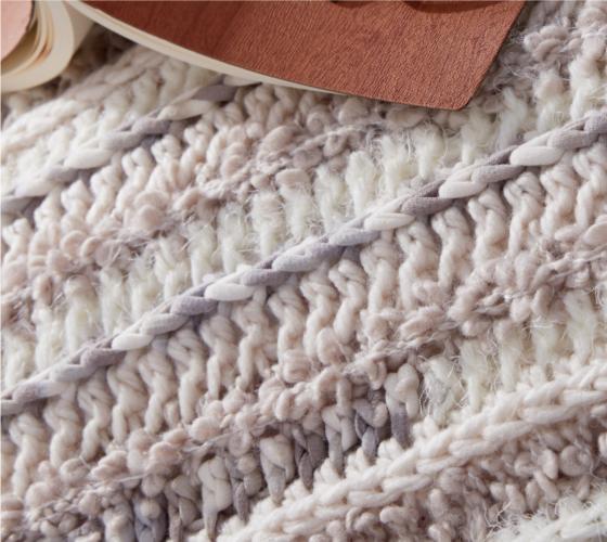 Bernat Textured Crochet Floor Pillow 2