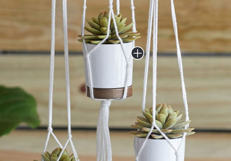 Beginner Knotted Plant Hangers