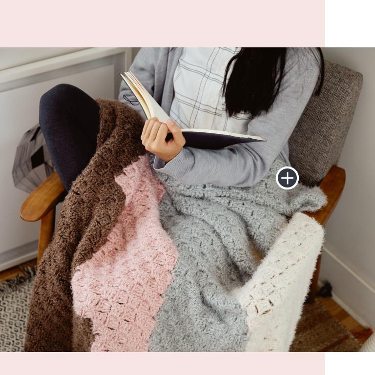 Easy Geometric Steps C2C Crochet Blanket