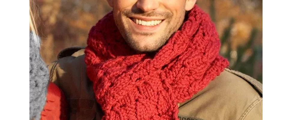 Easy Knit Super Scarf