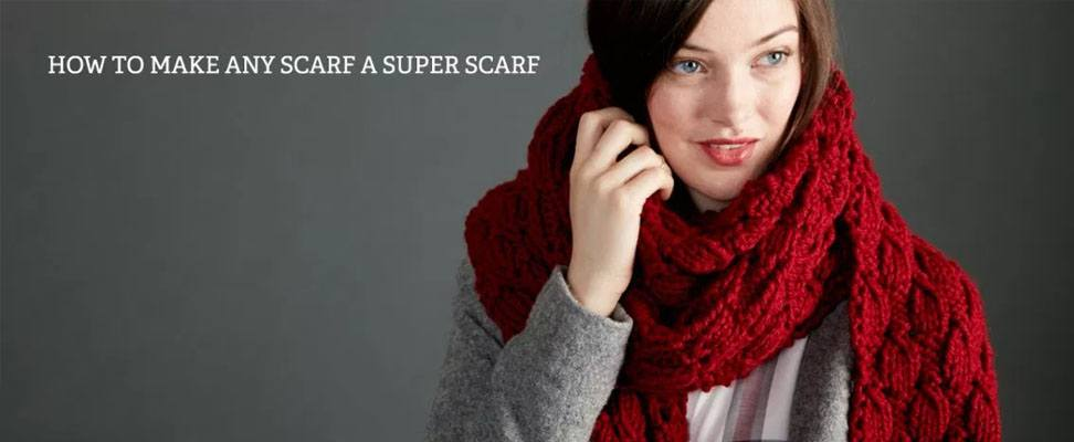 How to Make Any Scarf a Super Scarf