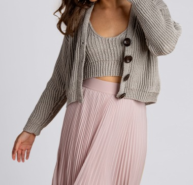 Patons Trinity Bellwoods Knit Cardigan