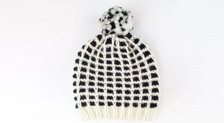 Must-Have Plaid Hat for Fall!