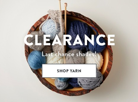 Clearance Yarn