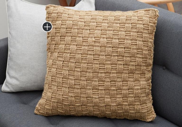 Easy My Way Crochet Pillow