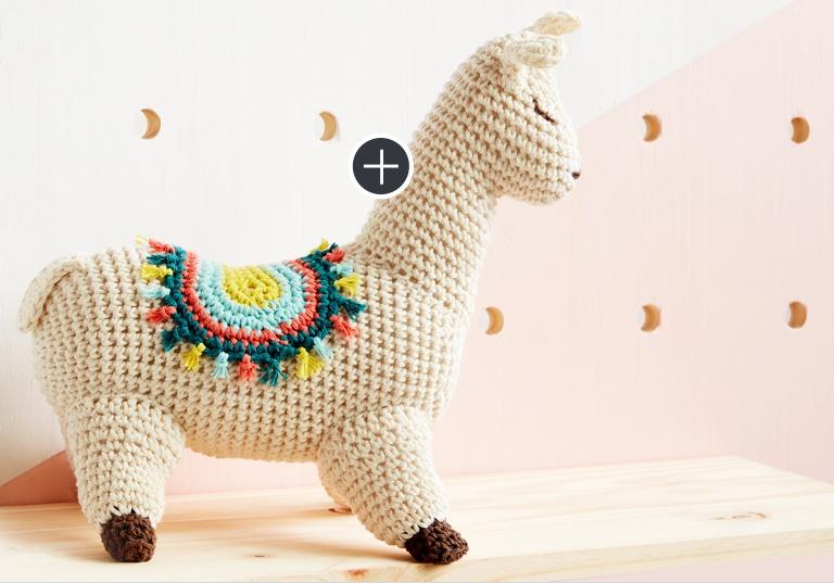 Easy Lluna The Llama Crochet Toy
