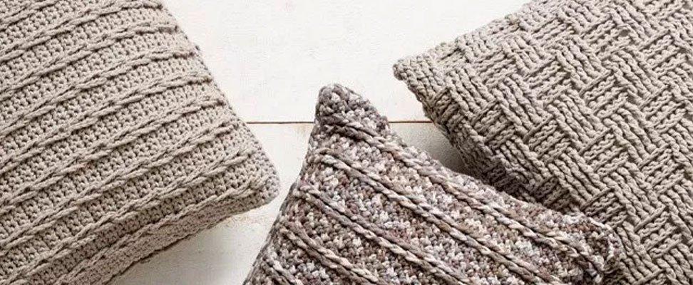 The Crochet Trio Pillow