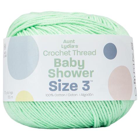Aunt Lydia's Baby Shower Crochet Thread