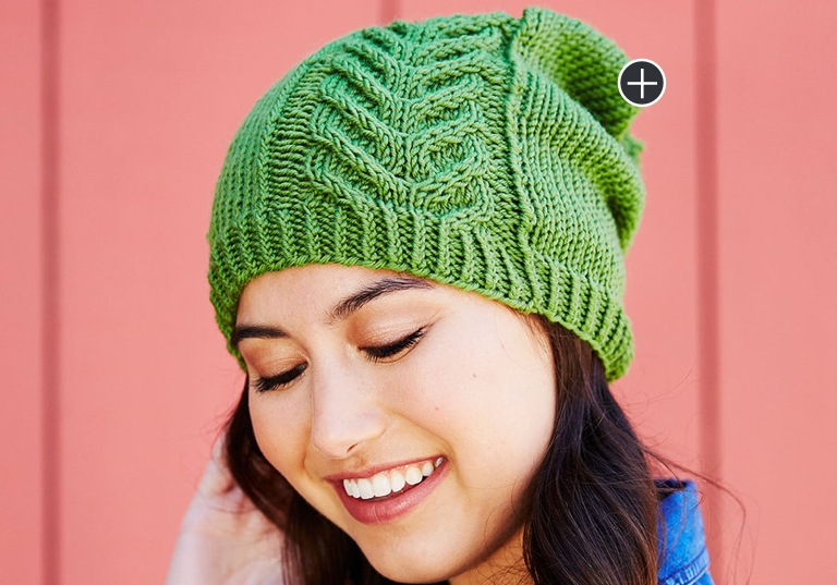 Easy Road to Success Chic Knit Hat
