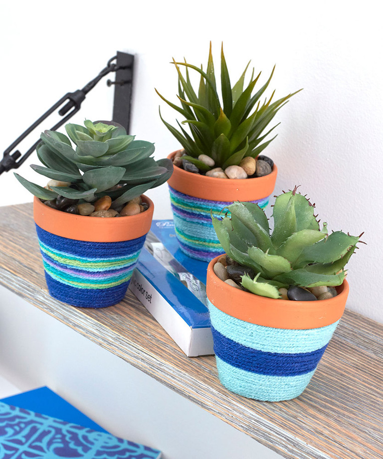 Crafty Flower Pots