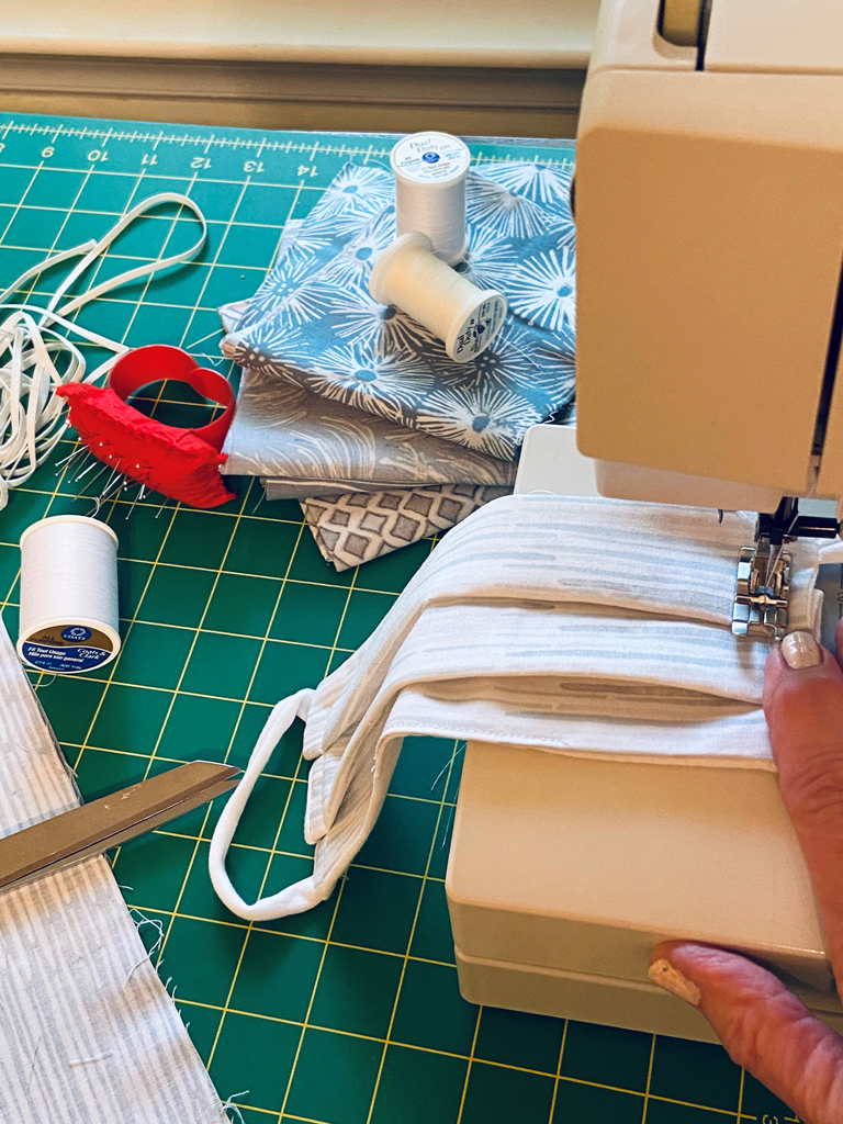 Sewing a Face Mask figure 1