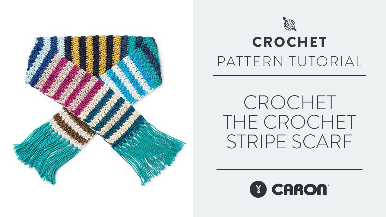 Crochet the Crochet Stripe Scarf