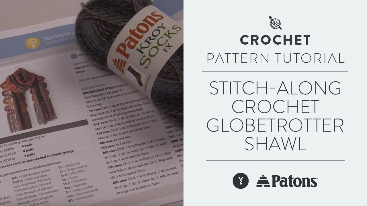 Stitch-Along: Crochet Globetrotter Shawl