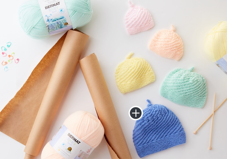 Easy Stay Warm Knit Baby Hat