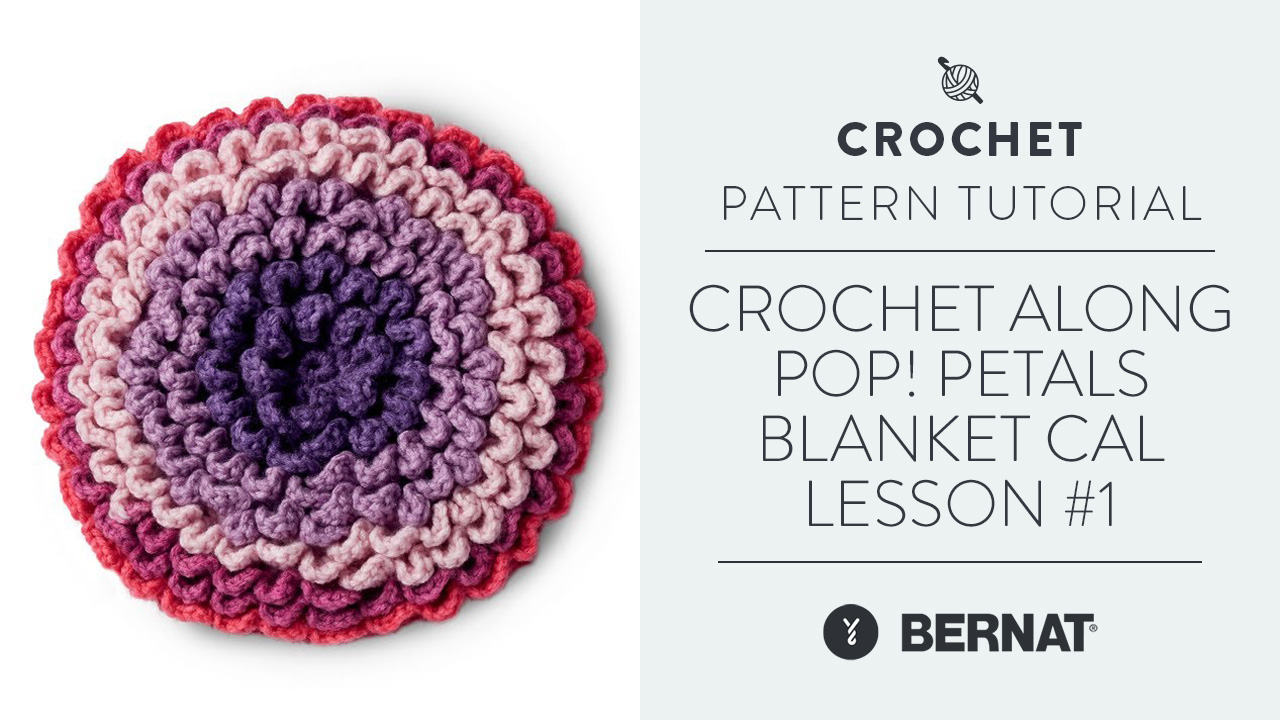 Crochet Along: Pop! Petals Blanket CAL Lesson #1