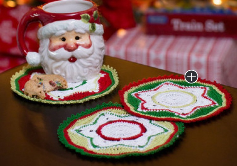 Intermediate Crochet Party Doily Coasters