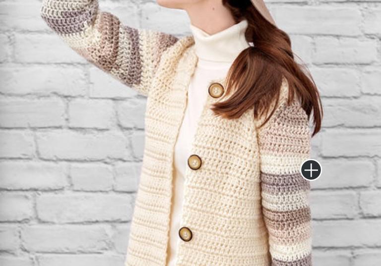 Easy Crochet Classy Cardi