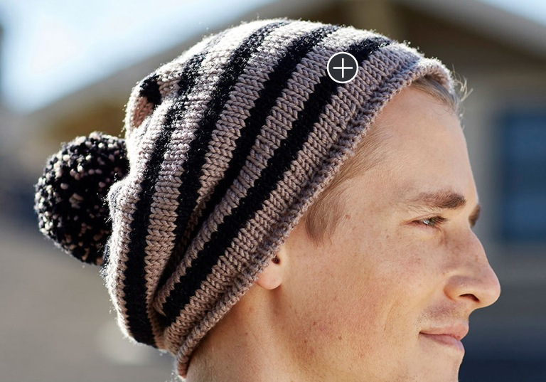 Intermediate Skater Chic Knit Hat