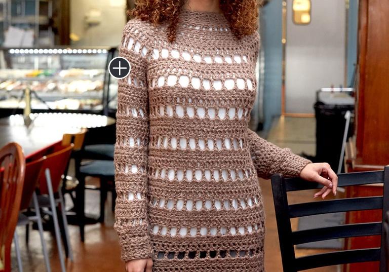 Intermediate Crochet Tanya Tunic
