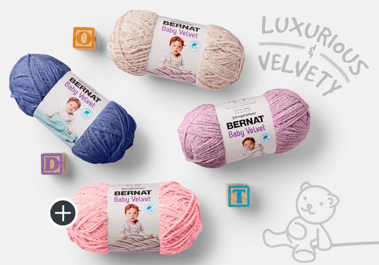 Bernat Baby Velvet yarn